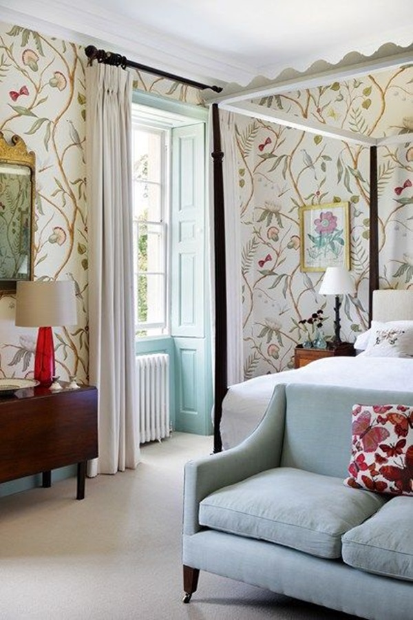 40 Amazing Design of Poster Wallpapers for Bedroom 17