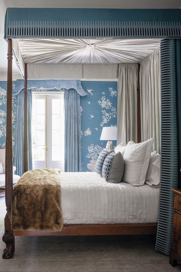40 Amazing Design of Poster Wallpapers for Bedroom 18