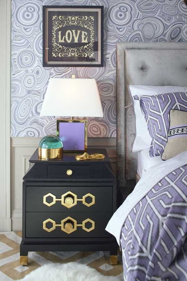40 Amazing Design of Poster Wallpapers for Bedroom 25