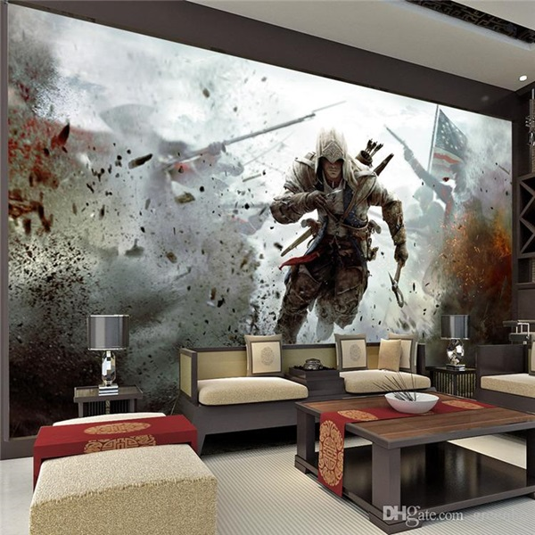 30 Amazing Designs of Poster Wallpapers for Bedroom