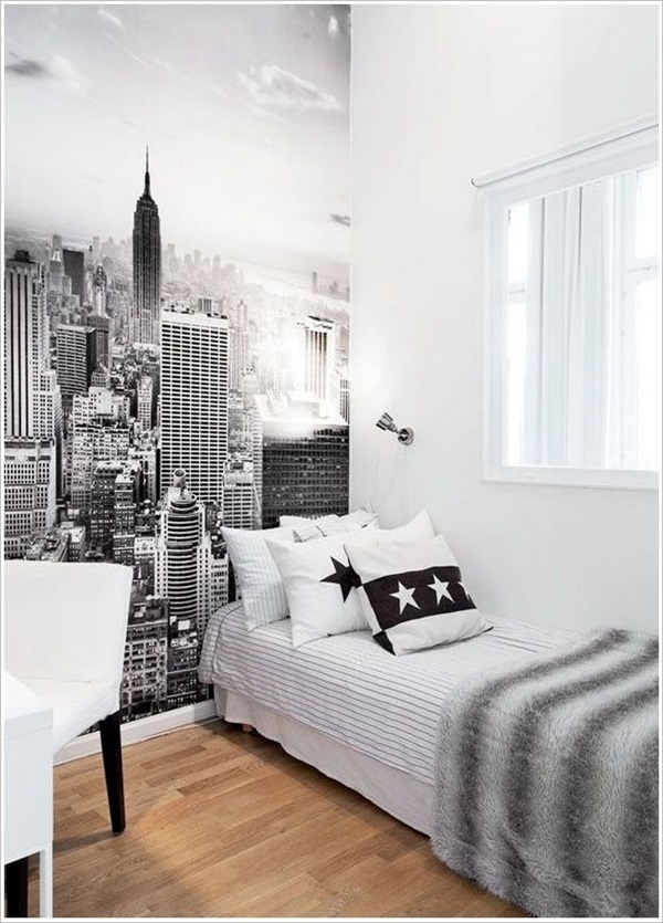 40 Amazing Design of Poster Wallpapers for Bedroom 39