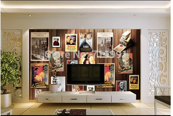 40 Amazing Design of Poster Wallpapers for Bedroom 8