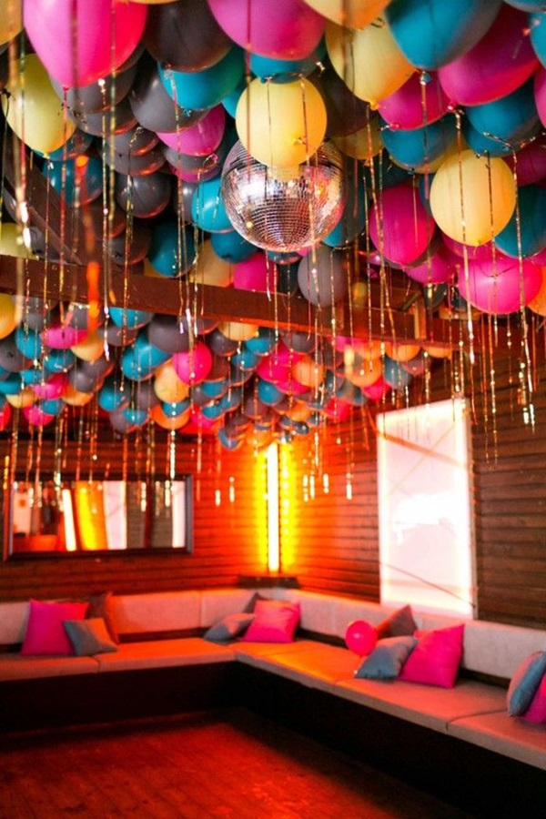 40 creative balloon decoration ideas for parties hobby for Balloon decoration making
