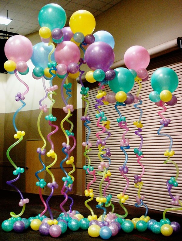 40 Creative Balloon Decoration Ideas 4