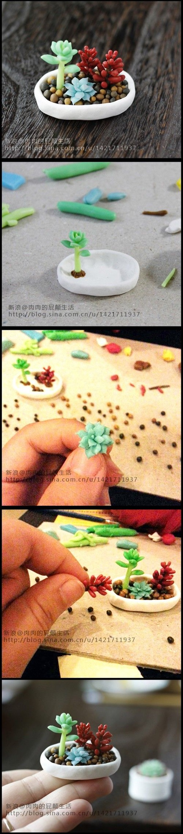 40 DIY Cute Sculpting Tutorials of Polymer Clay19