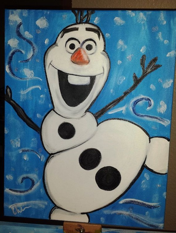 40 Pictures of Cool Disney Painting Ideas 23  40 Pictures of Cool Disney Painting  Ideas. Cool Painting Ideas