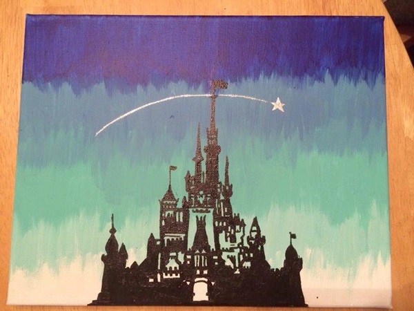 40 Pictures of Cool Disney Painting Ideas 3