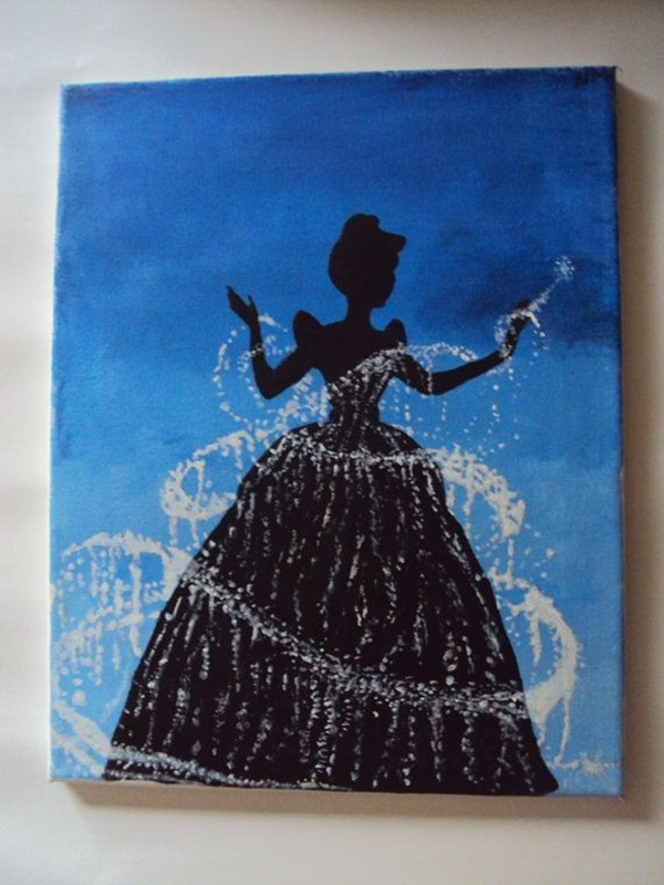 40 Pictures of Cool Disney Painting Ideas 5. 40 Pictures of Cool Disney Painting Ideas   Hobby Lesson