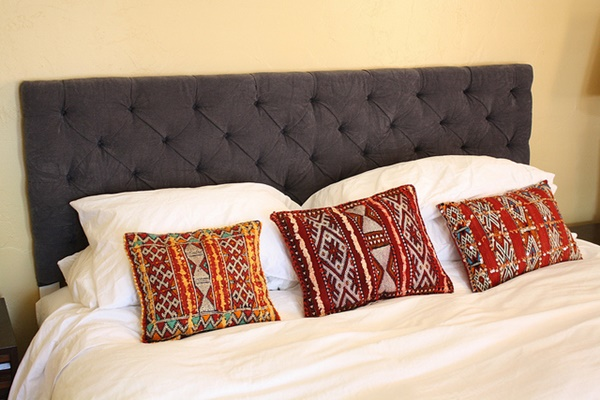DIY ButtonTufted Headboard Tutorial Feature Image