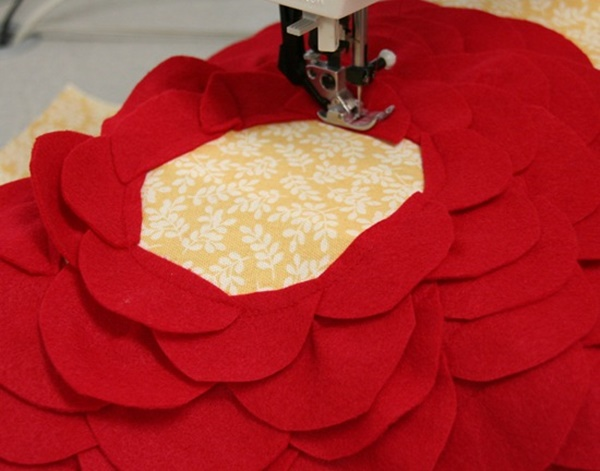 DIY Petal Pillow Tutorial 10
