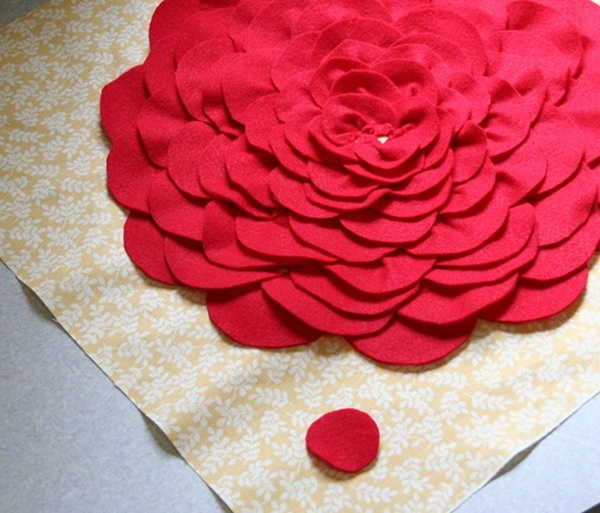DIY Petal Pillow Tutorial 11a