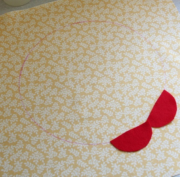 DIY Petal Pillow Tutorial 6