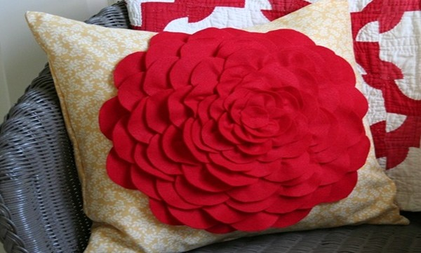 DIY Petal Pillow Tutorial Feature Image