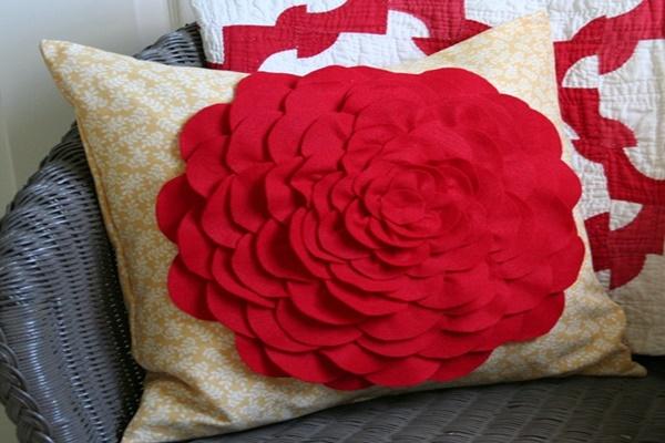 DIY Petal Pillow Tutorial Feature Image