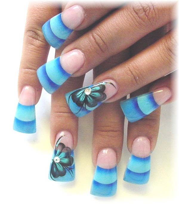 40 Cool and Simple Acrylic Nail Designs 10