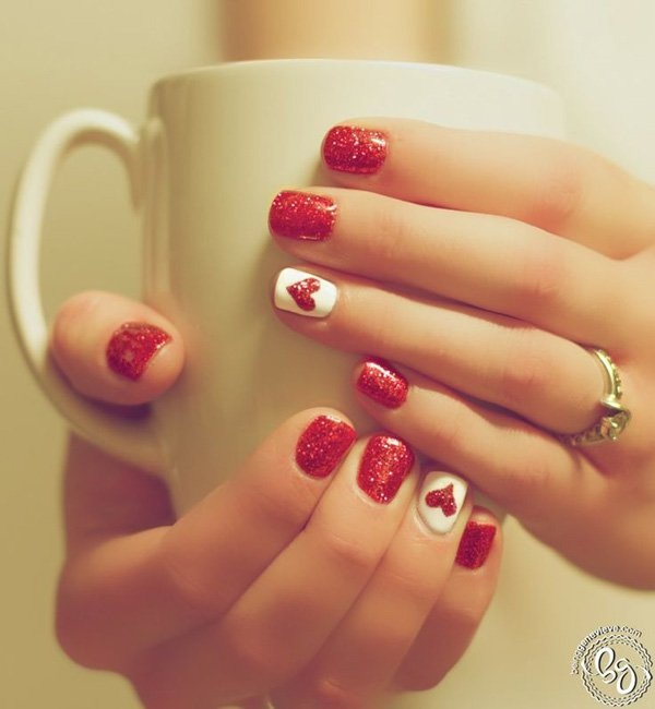 40 Cool and Simple Acrylic Nail Designs 11