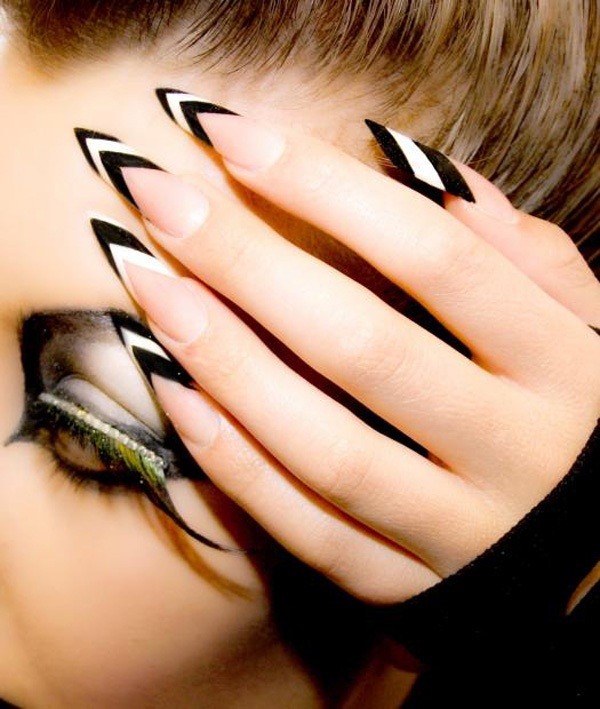 40 Cool and Simple Acrylic Nail Designs 12