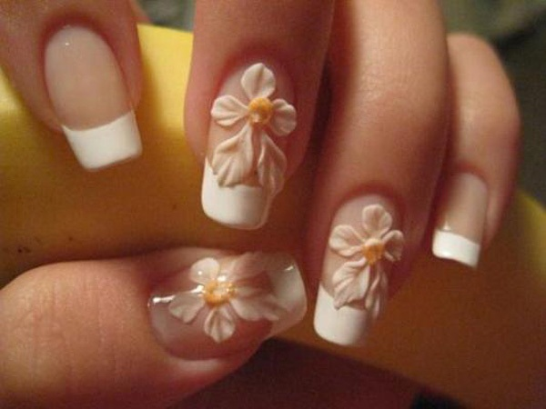 40 Cool and Simple Acrylic Nail Designs 13