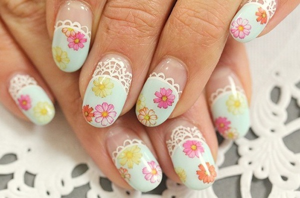 40 Cool and Simple Acrylic Nail Designs 15