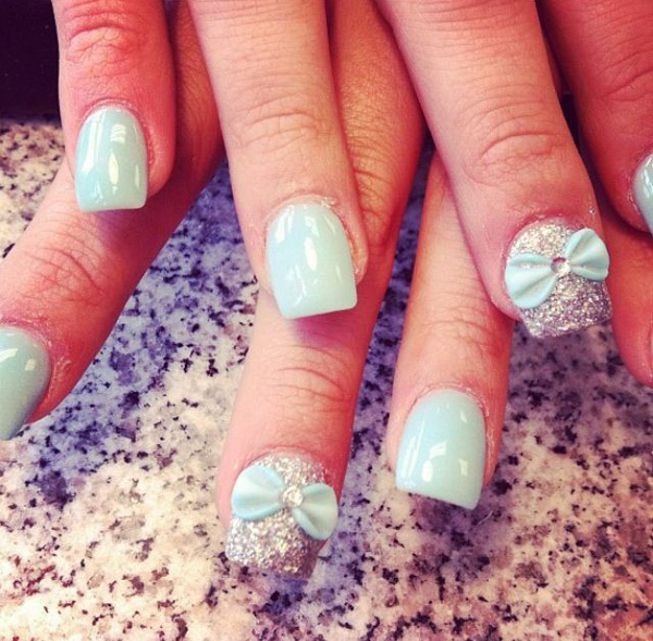 40 Cool and Simple Acrylic Nail Designs 16