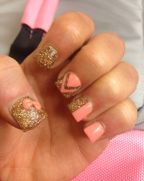 40 Cool and Simple Acrylic Nail Designs 19