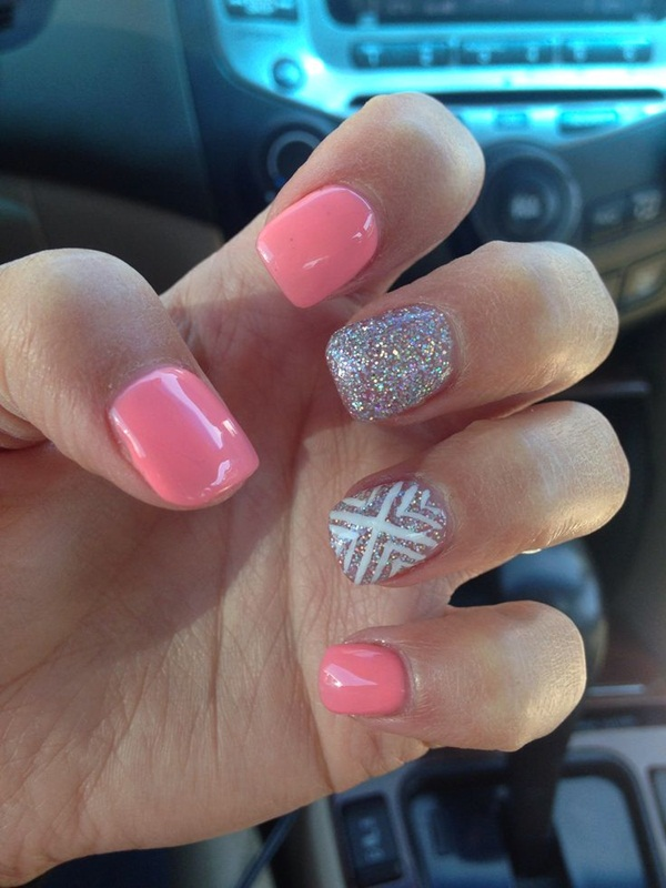 40 Cool and Simple Acrylic Nail Designs 2