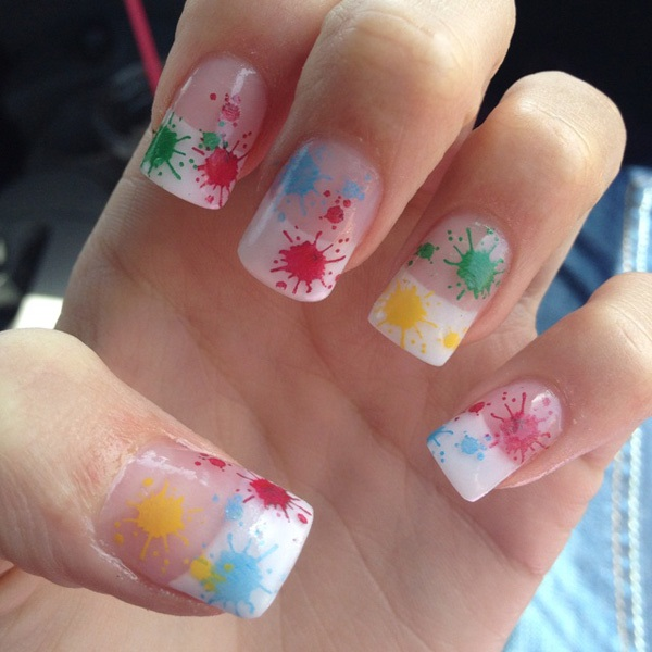40 Cool and Simple Acrylic Nail Designs 21