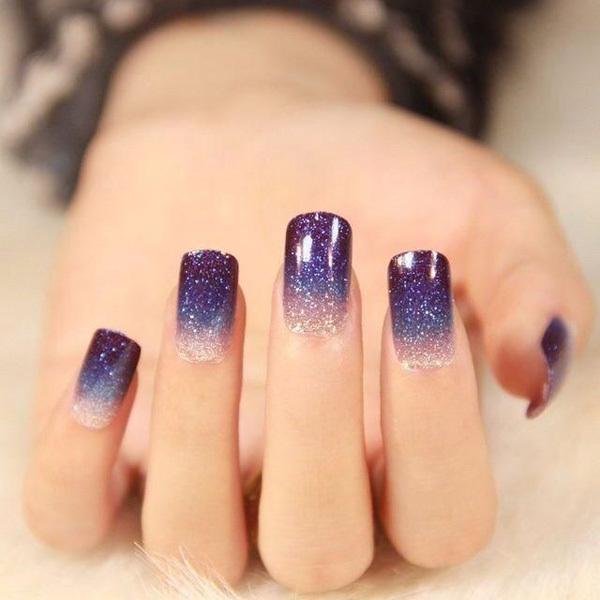 40 Cool and Simple Acrylic Nail Designs 27