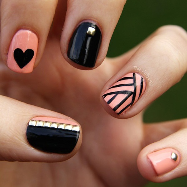 40 Cool and Simple Acrylic Nail Designs 29