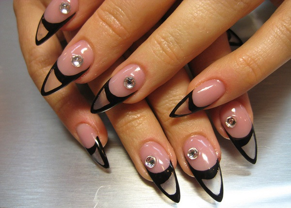 40 Cool and Simple Acrylic Nail Designs 31
