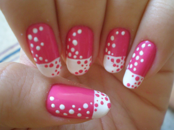 40 Cool and Simple Acrylic Nail Designs 33