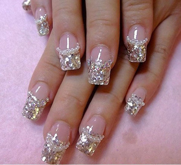 40 Cool and Simple Acrylic Nail Designs 36