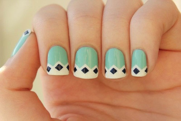 40 Cool and Simple Acrylic Nail Designs 38