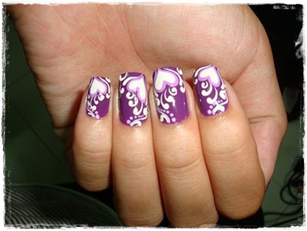 40 Cool and Simple Acrylic Nail Designs 4