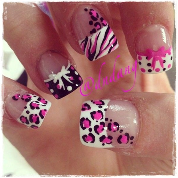 40 Cool and Simple Acrylic Nail Designs 6