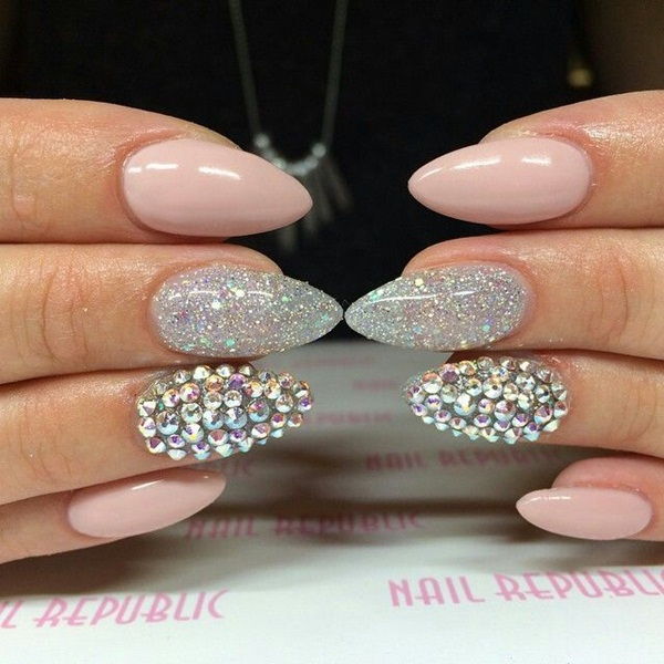 40 Cool and Simple Acrylic Nail Designs 9