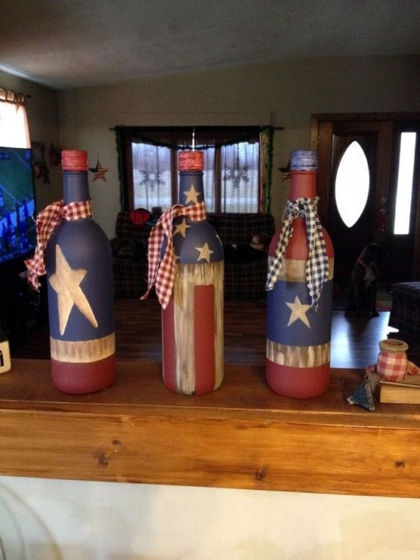 Cool Wine Bottles Craft Ideas (14)