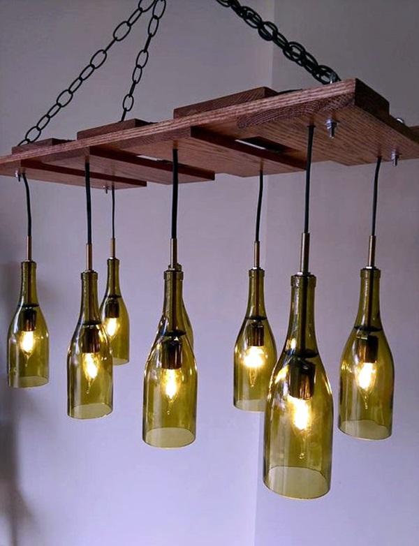 Cool Wine Bottles Craft Ideas (15)