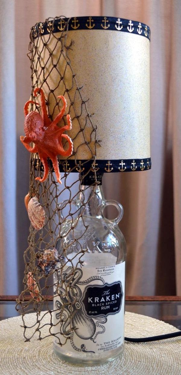 Cool Wine Bottles Craft Ideas (3)