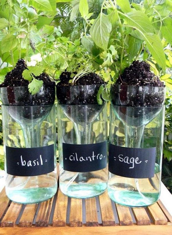 Cool Wine Bottles Craft Ideas (5)