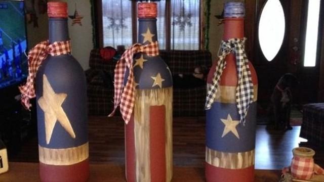 Cool Wine Bottles Craft Ideas
