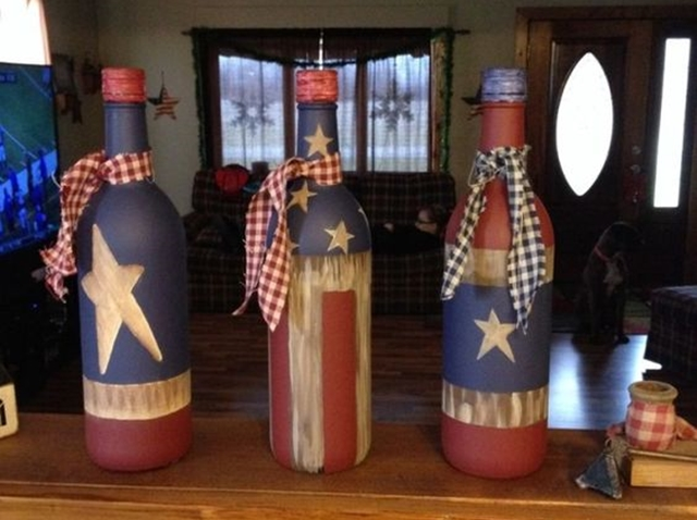 40 cool wine bottles craft ideas for How to use wine bottles for decoration