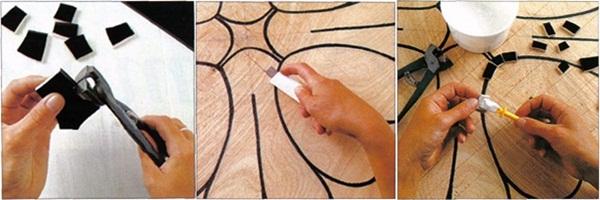 DIY Basic Mosaic Design Tutorial 1