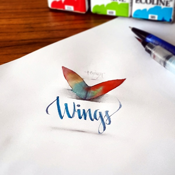 Mind Boggling 3D Calligraphy Examples By Tolga Girgin (26)