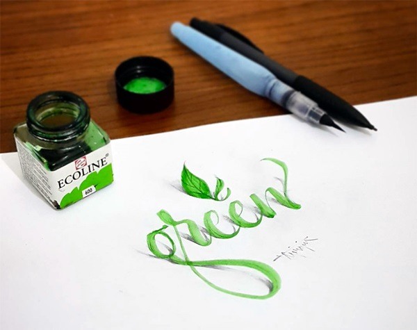 Mind Boggling 3D Calligraphy Examples By Tolga Girgin (3)