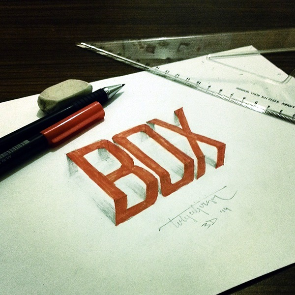 Mind Boggling 3D Calligraphy Examples By Tolga Girgin (4)