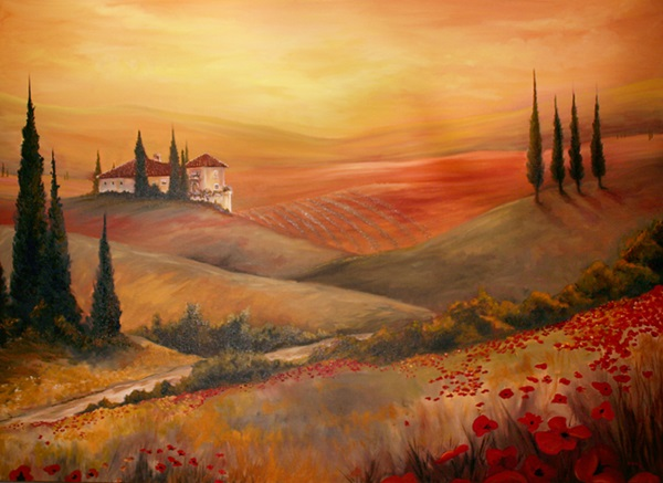 Simple and Inspirational Oil Painting Ideas For Beginners (16)