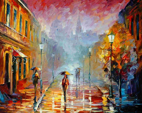 Simple and Inspirational Oil Painting Ideas For Beginners (23)