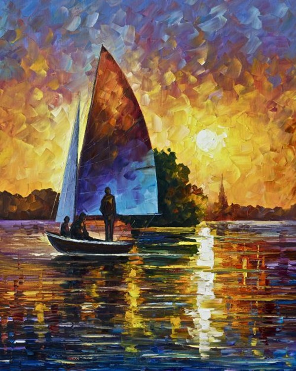 Simple and Inspirational Oil Painting Ideas For Beginners (9)