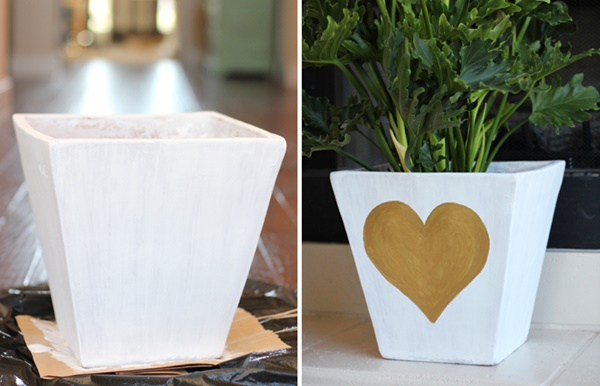 30 Flower Pot Painting Ideas 12